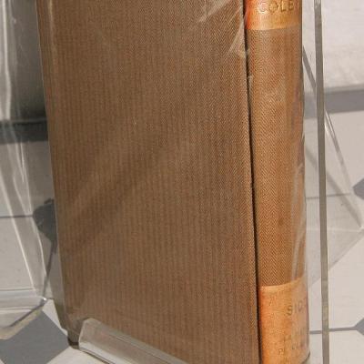 Colette Sido et La maison de Claudine Livre Moderne Illustré  1935 et 1928 relié toile