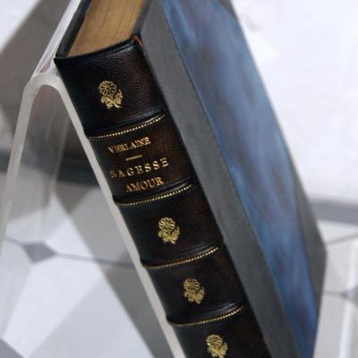 P Verlaine Sagesse Amour Ed. Rombaldi 1936 illustré N° relié