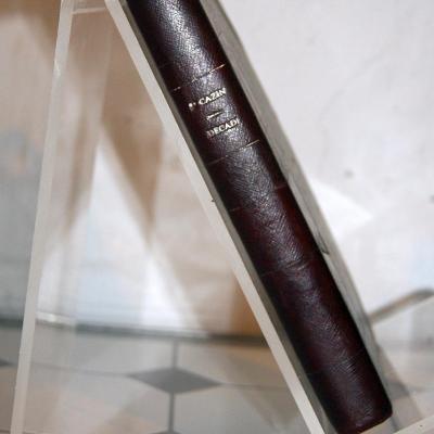 Paul CAZIN Décadi ou la pieuse enfance Plon 1921 relié dédicacé