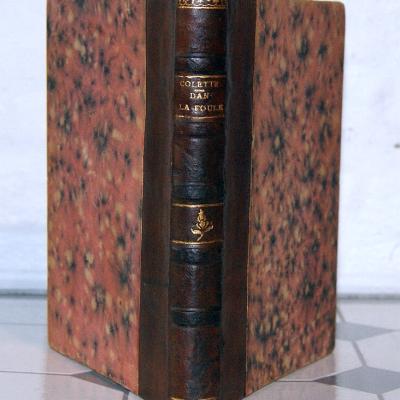 Colette Dans la foule G. Crès 1918 relié