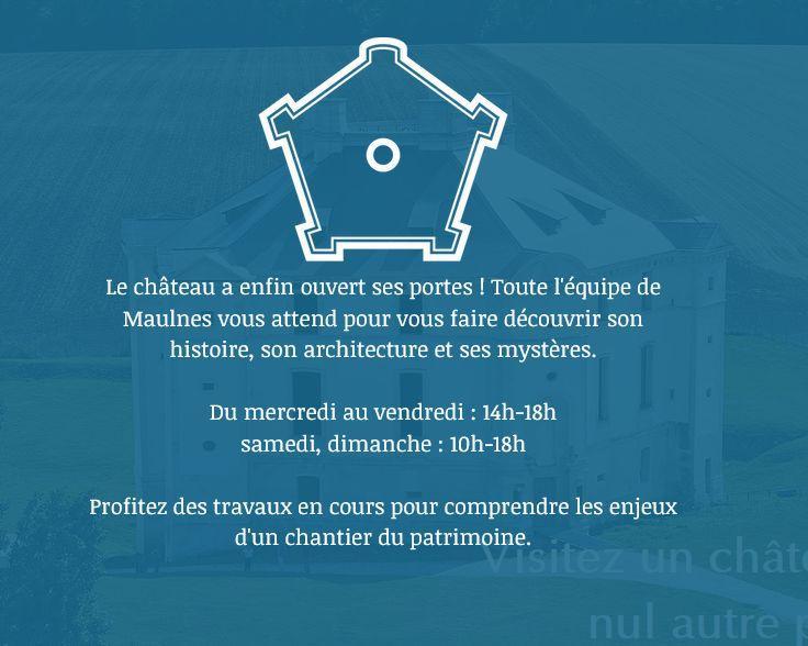 Site chateau de Maulnes